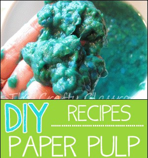how to make paper pulp the crafty classroom