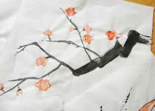 Sumi-e Japanese Painting