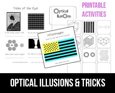 Optical Illusions for Kids | Worksheet | Education.com