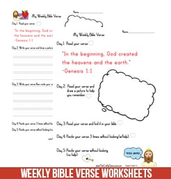 bible verse worksheet the crafty classroom. Black Bedroom Furniture Sets. Home Design Ideas