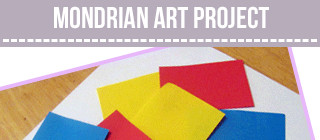 Mondrian Crafts for Kids