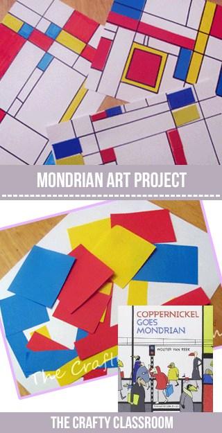 MondrianPin