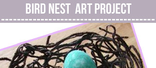 Bird Nest Craft for Kids