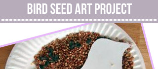 Bird Seed Poetry Craft
