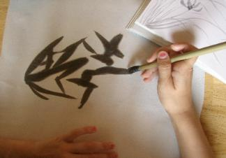 Sumi-e Painting for Kids - The Crafty Classroom