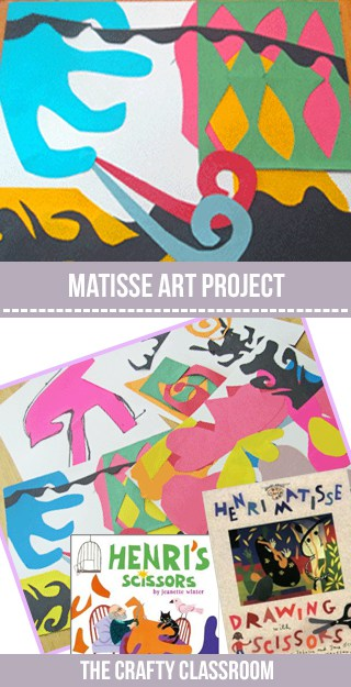 matisse art project for kids the crafty classroom