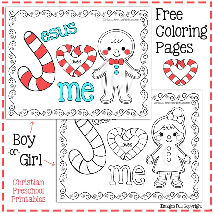 Legend Of The Candy Cane Printables