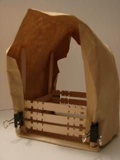 Covered Wagon Craft