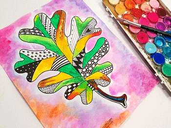 Fall leaf art projects for kids the crafty classroom for Craft classes for toddlers