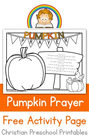 PumpkinPrayerPin