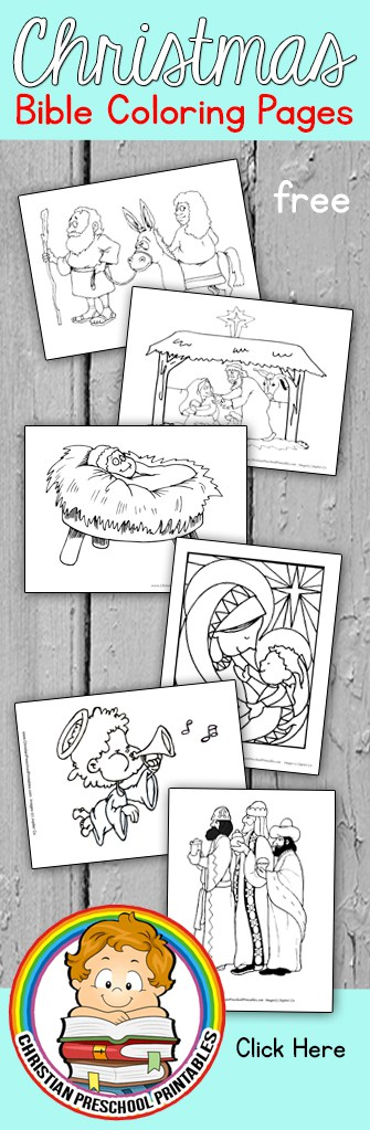Christmas story bible coloring pages the crafty classroom for Christmas bible coloring pages