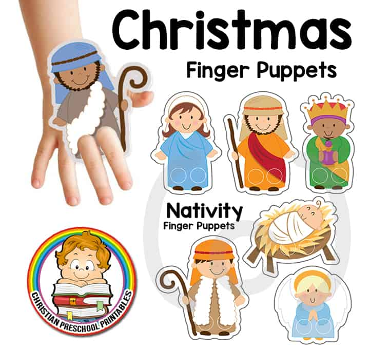 Nativity Finger Puppets The Crafty Classroom