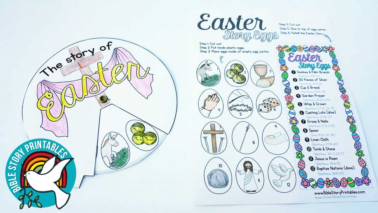 resurrection eggs story coloring pages - photo#36