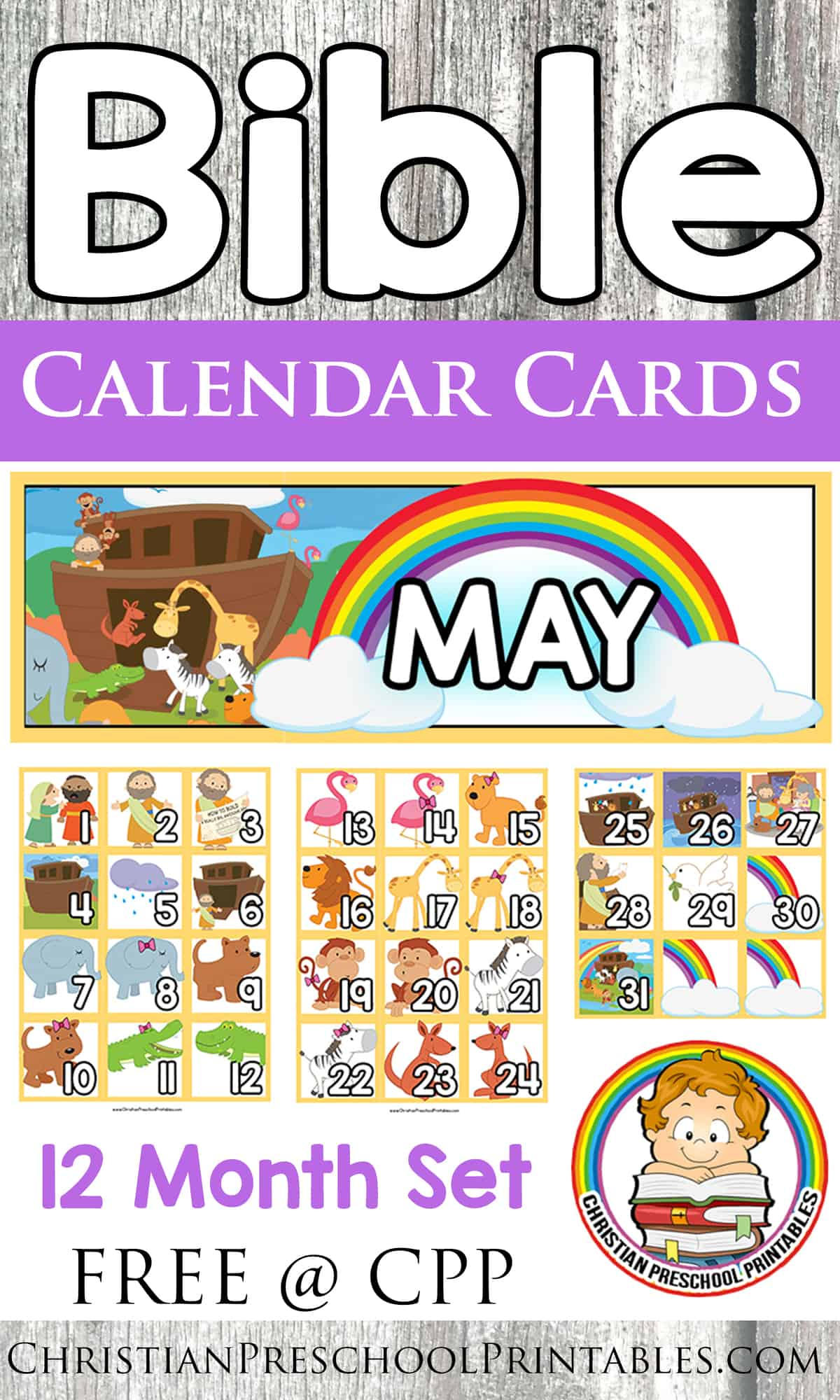 April Calendar S Kindergarten : Free bible calendar printables