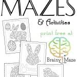 Easter Mazes for Kids