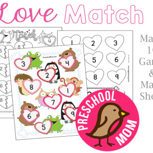 Valentine's Day Preschool Game