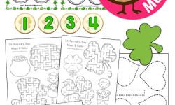 Saint Patrick's Day Preschool Printables