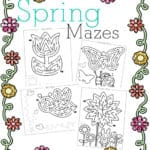 Free Spring Mazes And Activity Pages