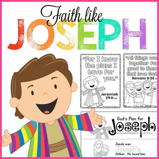 joseph preschool bible lesson