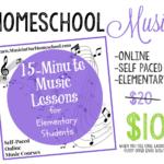 Homeschool Music Course
