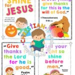 Fall Harvest Bible Printables