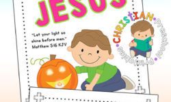 Halloween Outreach Bible Printables