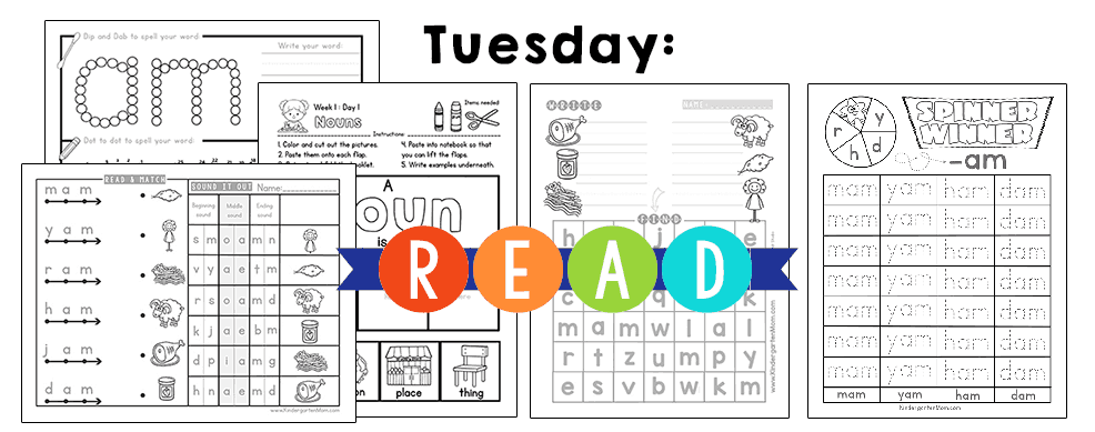 KindergartenReadingCurriculumTuesday