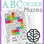 Alphabet Order Worksheets