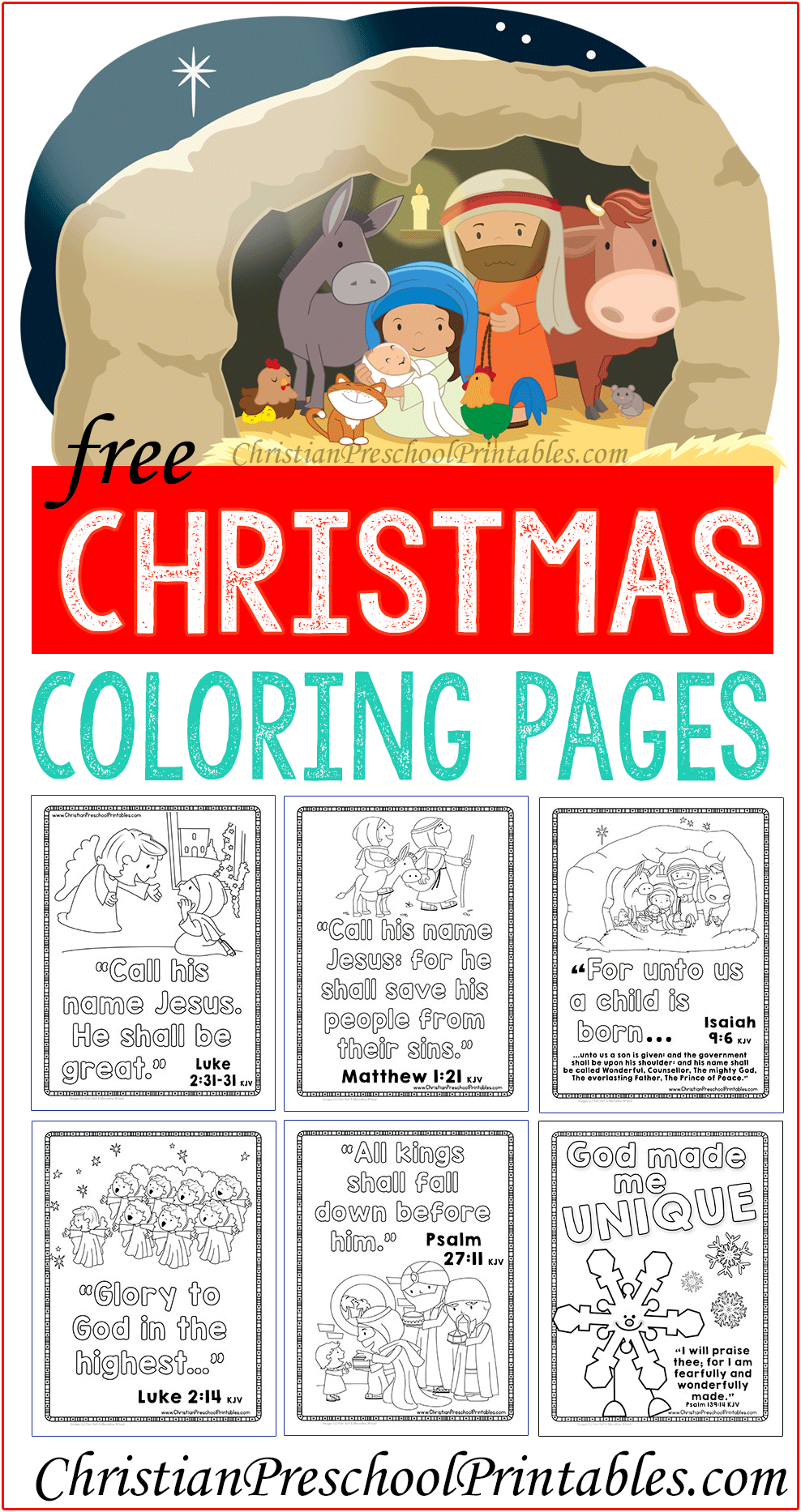 Bible Coloring Pages Archives