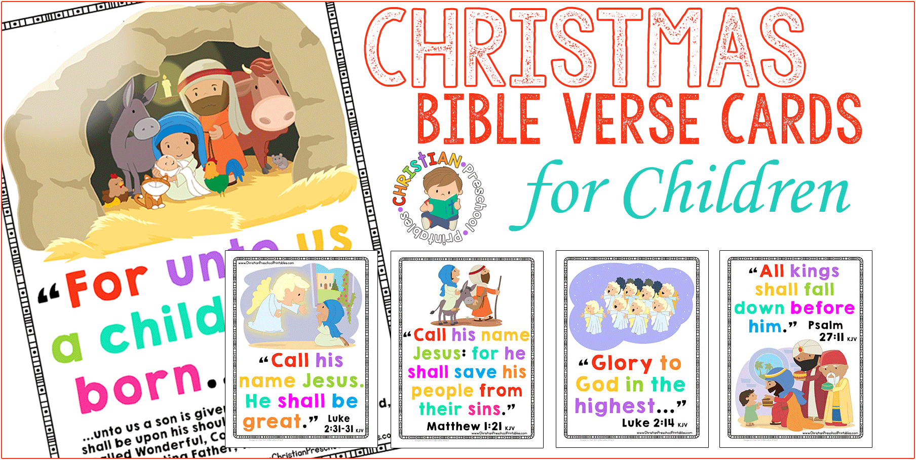 christmas bible verse cards