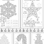 Printable Christmas Mazes