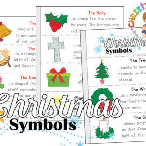 Christian Christmas Symbol Printables