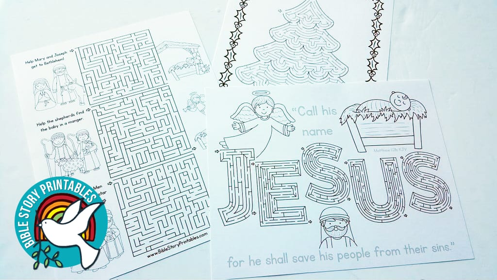 Printable Christmas Mazes - The Crafty Classroom