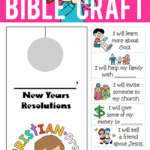 New Year's Bible Craft