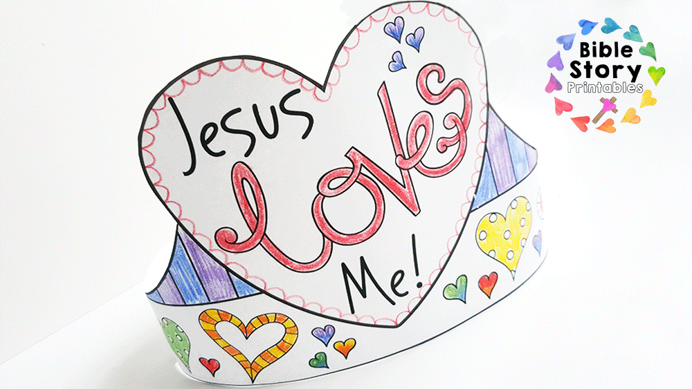 Jesus Loves Me Bookmark Craft