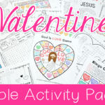 Jesus Loves Me: Valentine's Day Activity Pack