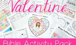 Jesus Loves Me: Valentine's Day Activity Pack