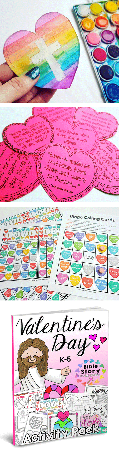 Jesus Loves Me: Valentine\'s Day Activity Pack - The Crafty Classroom
