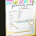 Free Simple Homeschool Planning Pack