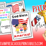 Fourth of July Bible Verse Printables for Kids