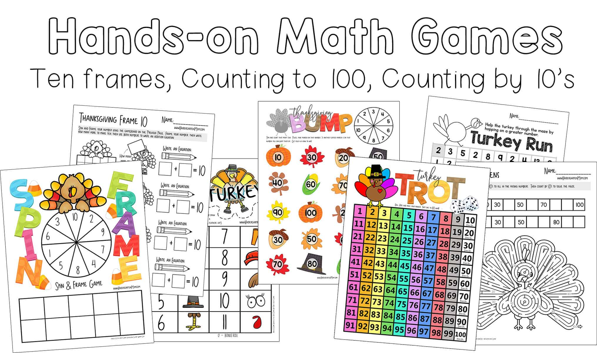 Printables archives thanksgiving math each day students will play a fun game or activity then follow up their learning with a lesson sheet to show mastery urtaz Image collections