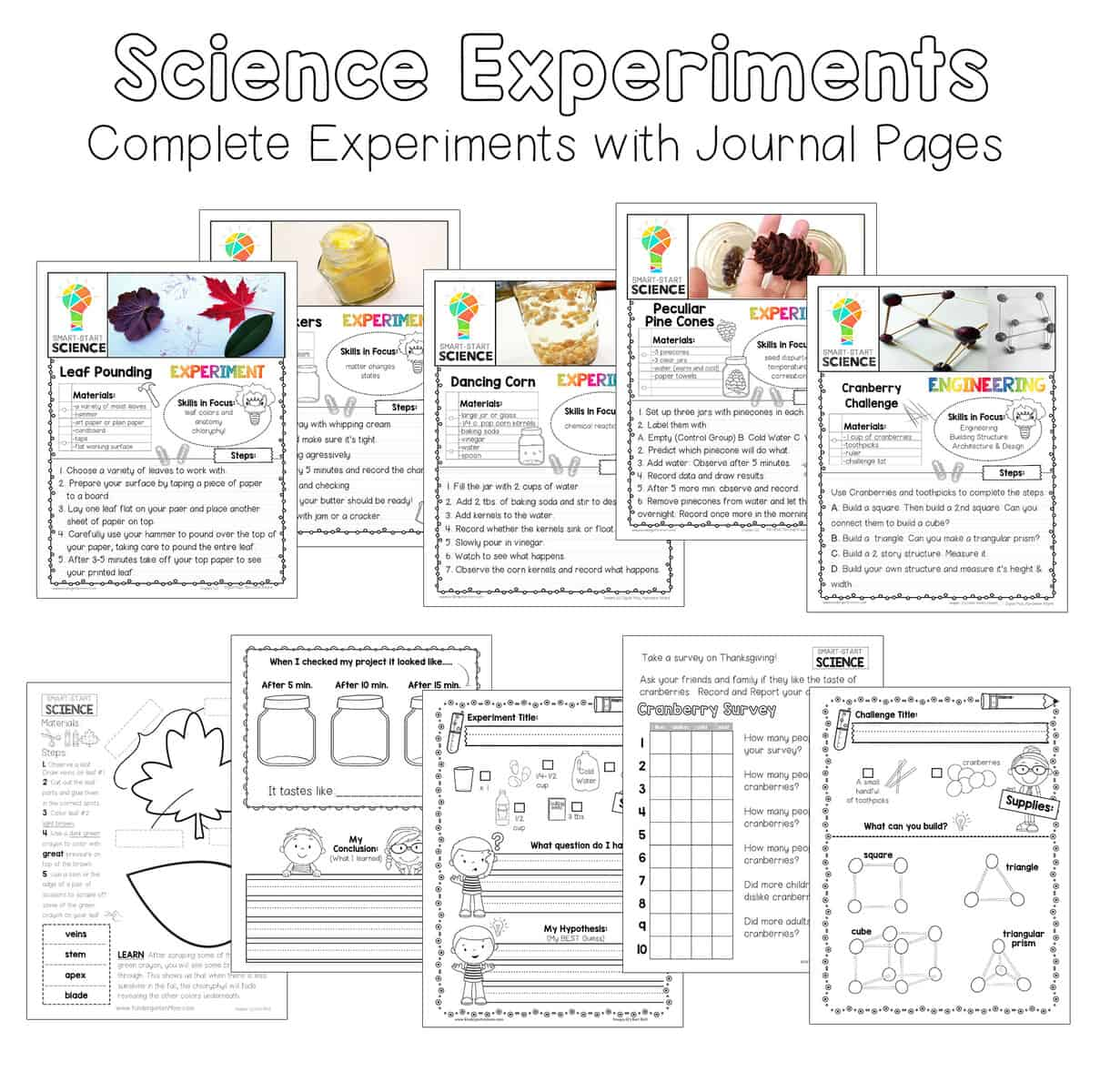 Printables archives thanksgiving science this set includes five simple science experiments and challenges each thematic activity guides students through a fun fandeluxe Choice Image