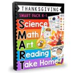 Thanksgiving Math & Literacy, Art, Science & More….