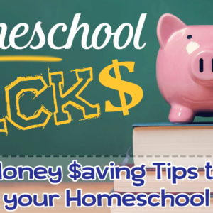 Homeschool Hacks: Money Saving Tips to Stretch Your Budget