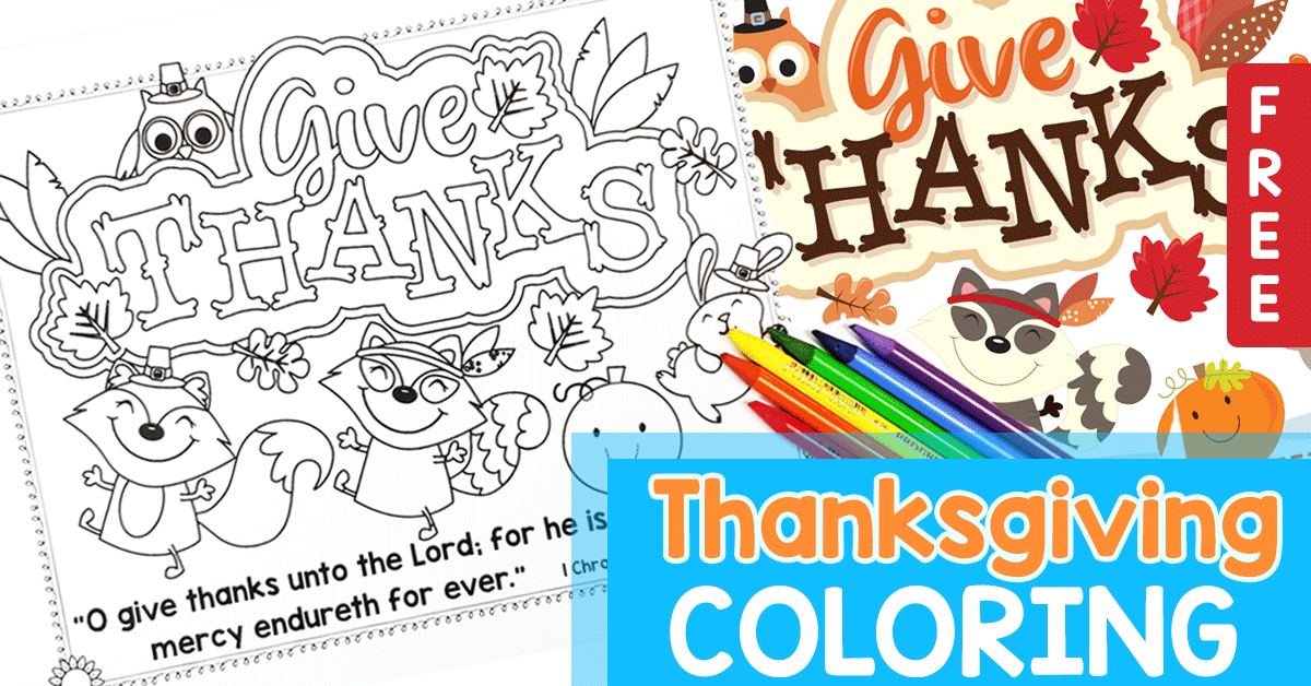 This Free Printable Thanksgiving Placemat Is Perfect For Your Children Holiday Featuring Adorable Animals And Fall Decorations