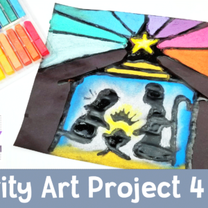 Nativity Art Project for Kids