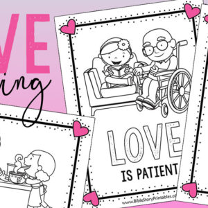 Valentine's Day Bible Coloring Pages