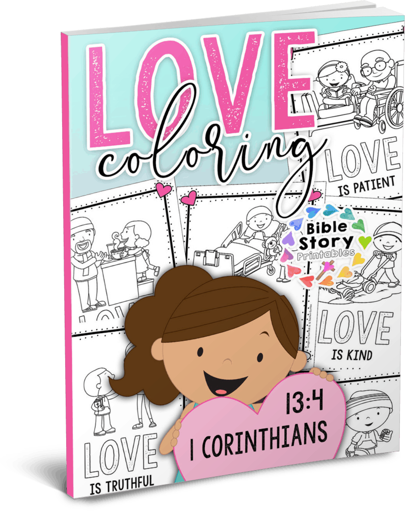 Valentine 39 s Day Bible Coloring Pages The Crafty Classroom