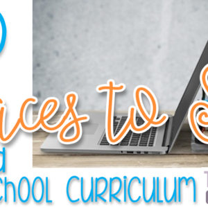 10 Places to SELL Your Used Homeschooling Curriculum