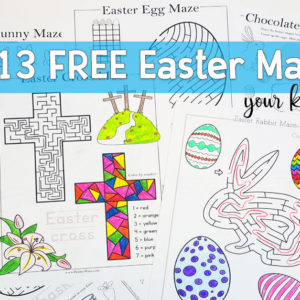 Free Easter Mazes For Kids
